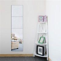 4 قطع الزخرفية ذاتية اللصق 3d بلاط الجدار فسيفساء مرآة تأثير غرفة مربع diy ديكور المنزل ملصقات 30x30 سنتيمتر Y200103 750 K2