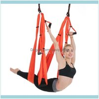 Resistance Bands Fitness Supplies Sports & Outdoorsanti-Gravity Hammock Gym Strength Inversion Aerial Traction Swing Yoga Belt Equipment For