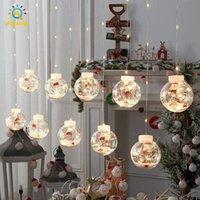 الصمام ضوء سلسلة متمنيا الكرة أضواء الستار عيد الميلاد 3M 10 المصابيح للماء الأسلاك النحاسية في الهواء الطلق سلاسل الديكور