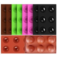 10pcs lot Semi cake Silicone Mold,Baking Moulds Half Sphere Silicone Baking Molds for Making Chocolate, Cake, Jelly, Dome Mousse