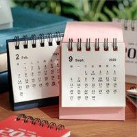 2021 CALENDARIO DE MINI DE ESCENDIENTE CREATIVO Calendario Nórdico Calendario Plan de escritorio Esta decoración Pequeño recinto fresco Calendario de calendario Decoración T9I001129