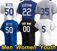 Бейсбол Джерси Морис Betts Cody 35 Clayton Kershaw Corey Juchin Turner Julio Urias 50 Mookie Betts