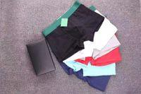 calzoncillos transpirable ropa interior para hombres de alto grado 3 / caja Movimiento cómodo y suave Boxer Shorts Cotton Sexy