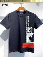Dsquared2 Dsquared Dsq Dsq2 DQ Phantom Turtle 2021ss New Mens Designer T-shirt Paris Mode T-shirts Summer DQ Motif T-shirt Homme Top Qualité 100% coton Top 1034 OBC