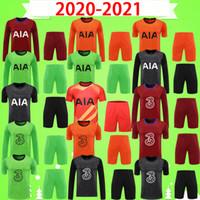 Camiseta de portero de la camiseta del chelsea kit para adultos de manga larga 20 21 MENDY 2020 2021 Camisetas de fútbol KAPA LLORIS Camisetas traje en casa tercer conjunto para