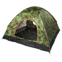 SGODDE Automatisches Instantzelt Wasserdichte UV-Schutz Anti-Moskito Leichtes tragbares Campingzelt für das Wandern im Freien