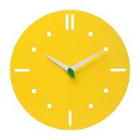Wall Clocks Nordic 3d Charts Mute Creative Wooden Modern Clock For Children Art Deco Kitchen Reloj Cucu Home Decoration DD55WC