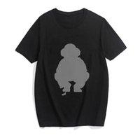 Hip Hop Polo Bear Fashion Fashion Punk T Shirt Hombres Tops de gran tamaño Streetwear Summer Hombre Camiseta Gótico Letra Tee DYDHG251