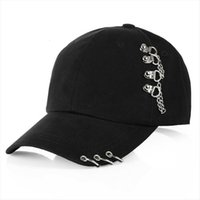 Fashion Hat Cap Women Men Adjustable Baseball Snapback Golf Ball Sport Casual Sun Trucker With Rings Black Pink White