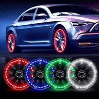 Interior&External Lights Solar LED Valve Light Powered Car Motorcycle Wheel Tire Tyre Cap Flash Decorative Automatic Lamp Vibration Sensor P