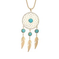 LcCz Women Gold silvery rose Gold Dream Catcher Snake Chain ...