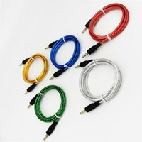 Jack Single Core To Android Stereo Flexible Colorful Av Car Aux Audio 3.5mm Cable length 1M