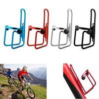 Yeni 4 Renkler Bisiklet Alüminyum Alaşım Şişe Tutucu Bisiklet Ekipmanları Sürme Şişe Kafes Braketi Dağ Bisikleti Sürme Aksesuarları