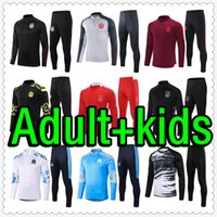 رجل و Kids Kit Soccer Bracksuit الفانيلة 2122 جيرسي حقيبة التدريب لكرة القدم تشاندالال فوتبول survetement القدم مايلوت دي الرجعية لاعب نسخة