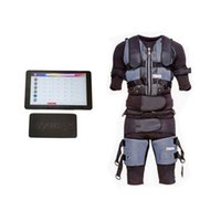 Wireless EMS التدريب البدلة المشجعين العضلات الإلكترونية للياقة EMS الصدرية الكهربائية آلة التدريب مع البدلة ems