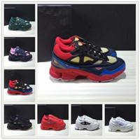 2021 Adidas Raf Simons Ozweego 3.0 shoes جديد أزياء النسخ raf سيمونز ozweego iii الرياضة الرجال النساء clunky المعدنية الفضة أحذية رياضية dorky عارضة الأحذية الحجم 36-45