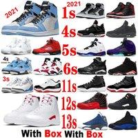 Obsidyen 13 Basketbol Ayakkabı Büküm 12s Beyaz Oreo 4 S Space Reçel 11 Bred Erkek Kadın Sneakers Üniversitesi Mavi 1 S Koyu Toz 13 S Siyah Kedi Yangın Kırmızı 6 Azgın Bull Kutusu ile