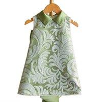 Girls Dresses Children Clothing Kids Clothes Flower Princess Wear Big Bow Birthday Holiday Formal Baby Dress B8527
