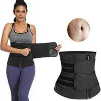 قابل للتعديل النساء الخصر المدرب اللياقة البدنية ساونا العرق النيوبرين التخسيس حزام حزام ملابس داخلية النمذجة حزام سستة الجسم المشكل