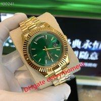 Moda Best-Selling Mechanical Watch 228238 228239 228235 BP Factory produce 2813 Movimiento 40mm Relojes para hombre 18k Caja de oro Correa - 2
