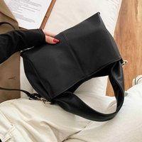Shoulder Bags Women Handbag High Quality Tote For 2021 Solid Color Crossbody Lady Leather Satchel Hobo Bag
