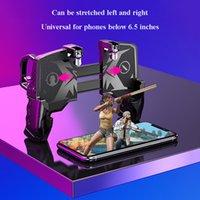 Бесплатная Доставка K21 Геймпад Мобильный Телефон Контроллер Для Pubg Чувствительный Съемка Триггер Огонь Металлическая Кнопка Игра Джойстик Мобильный телефон Геймпад