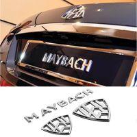 Pour Mercedes-Benz Maybach S-Class S400 S600 Construction de voitures Modification de la modification de la décoration arrière de la décoration arrière Accessoires d'autocollant automatique
