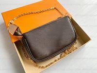 Top Qualität Mini Pochette Zubehör Kamera Umhängetasche Frauen Männer Tote Crossbody Taschen Luxus Designer MYLON Mode Shopping Brieftasche Hüllen Karten Taschen Handtasche