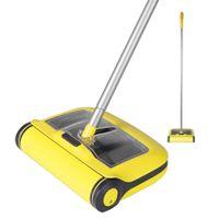 CleanHome Piso Sweeper Microfiber Flat MOP para madeira de madeira cerâmica Laminado Tapete Home Cozinha Pet Dust Limpeza 210226