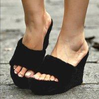 Slippers 2021 Women Flat Sandals Shoes Solid Color Wedge Ladies Beach Summer Non-Slip Flip Flops