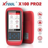 XTOOL X100 Pro2 OBD2 Otomatik Anahtar Programcı / Kilometre Ayarı X100PRO ECU Sıfırlama Kodu Oku Araba Araçları Çoklu Dil Ücretsiz Güncelleme