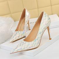 Women sexy summer Dress Shoes high heels red bottom sandal leather Open Toe Plain Leathers Pin Heelss Elegant Style wedding