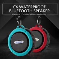 C6 portable wireless bluetooth speaker Bluetooth RDA 4.0 outdoor wireless music speaker waterproof mini speaker bass