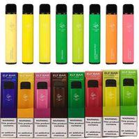 Elf Bar Disposable E Cigarettes Pod Device 1500 Puffs 850mAh Battery 4.8ml Prefilled Cartridge Vape Pen