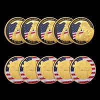 5 pz 1944.6.6 D-day Omaha Beach Challenge Craft 1oz placcato oro souvenir cimetiere americano militare militare collezione di monete militari