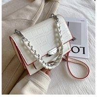 HBP Moda Donna Crossbody Bag Borsa Borse Borse Designer Borsa Designer Qualità Trama Borsa a tracolla Catena Catena Pattern