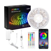 Led Strip Lights Kit, Light Strips with App Control Remote, 5050 RGB for Bedroom,Kitchen, Home Decoration, Music Sync Color Changing,UL ETL Listed Power Apply