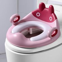Toilet Seat Covers Cover Non-slip Potty Training For Kids Anti-Splash With Handles Bathroom Accessories