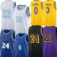 Талан 5 Horton-Tucker Jersey Alex 4 Caruso 23 Джерси Энтони 3 Дэвис Кайл 0 Кузьма Джерси Дж. Mes Los Баскетбол Джьи