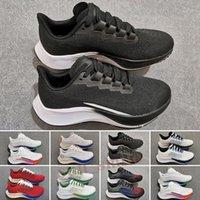 Zoom Pegasus 37 turbo 2 Trail Running Shoes Homens Mulheres Sapatilhas Portáteis Branco Preto Multi-Color Exterior Treinadores Tamanho 5.5-11