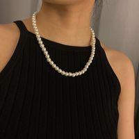 Mode imitate perle Colliers Colliers Collier Déclaration de collier de charme pour femmes bijoux