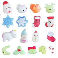 Kawaii Weiche Einhorn Squishy Spielzeug Sinnes Zappeln Finger Spielzeug Squeeze Stretch Stress Spielzeug Weihnachten Tier Squishies Party Decor HWB9276