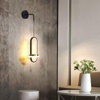 Wall Lamp Bedside Sconce Light Bedroom Luxury Nordic Modern Minimalist Led Living Room Balcony Aisle Small Chandelier Lighting