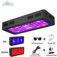 Double commutateur 600W 900W 1200W Led Spectrum Full Grow Light avec des modes Veg / Bloom pour les plantes de tente à effet de serre intérieures LED