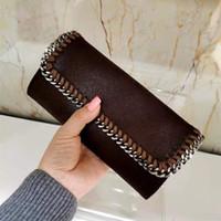 Luxurys Designer Brieftasche Stilvolle Art, um Geld zu tragen Karten und Münzen Weiche Material Leder Geldbörse Kartenhalter Business Frauen Lange Walle