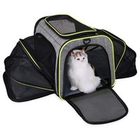 Outdoor Bags Breathable Pet Cat Carrier Backpack Large Capacity Dogs Carrying Bag Folding Chest Portable Travel Pets