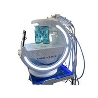 Hydra Microdermabrasion Skin Analysis Multifunction Blackhead Remover Vacuum Suction Ultrasound RF Cold Hammer Facial Care Beauty Equipment