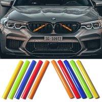 Автомобиль передний гриль логотип значок эмблема трубки полоски чехол для BMW F30 F31 F32 F33 F36 F44 F45 F46 F46 F21 F42 G30 G32 G11 G12 M спортивные украшения Grille Bonnet