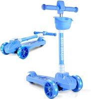 Smart Scooter Pieghevole KickScooter Blue per bambini tra 3 e 12 anni Facile da trasportare Regalo perfetto Tre ruote Stability Design Scooter Scooter Stare 200 sterline