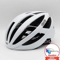 ABUS Cycling Helmet Aero Elmo Casco originale Guida da equitazione Bicycle Uomo Donna MTB Road Bike VTT Omne Air Spin Hat P0824